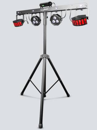 Chauvet DJ GigBAR 2 All inclusive 4-in-1 Lighting Package with 2 Wash Lights, 2 Derby Lights, a Laser, 4 Strobe Lights gig-bar-2 Product Image 5