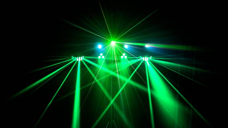 Chauvet DJ GigBAR 2 All inclusive 4-in-1 Lighting Package with 2 Wash Lights, 2 Derby Lights, a Laser, 4 Strobe Lights gig-bar-2 Product Image 2