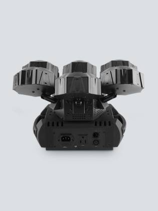 Chauvet DJ Helicopter Q6 Multi-Effect Moving Head Light with Strobe and Red Green Laser  Product Image 9