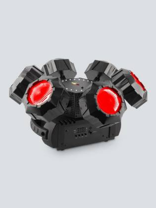 Chauvet DJ Helicopter Q6 Multi-Effect Moving Head Light with Strobe and Red Green Laser  Product Image 3