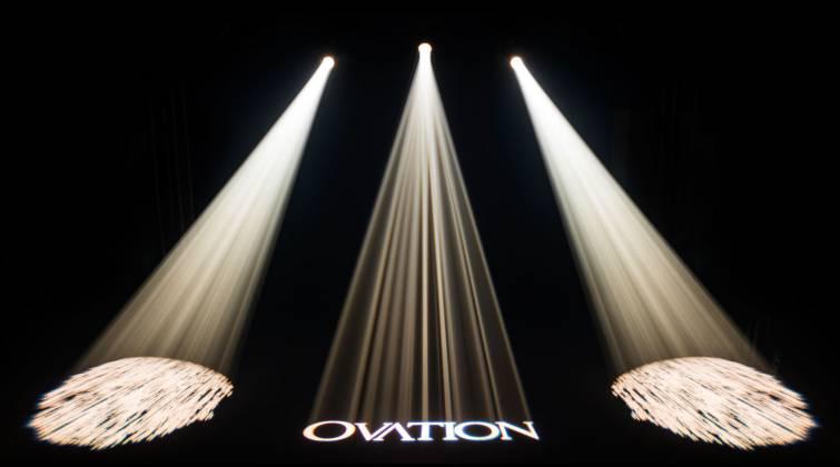 Chauvet Pro OVATION E-260CW Cool White LED Ellipsoidal Light Product Image 2