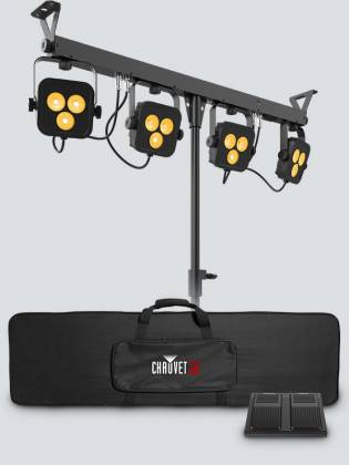 Chauvet DJ 4Bar-Quad-LT-BT RGBA LED Wash Light Package with D-Fi and Bluetooth Compatibility Product Image 6