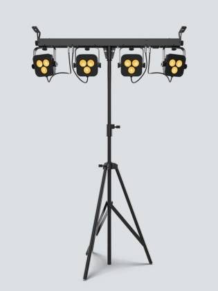 Chauvet DJ 4Bar-Quad-LT-BT RGBA LED Wash Light Package with D-Fi and Bluetooth Compatibility Product Image 5