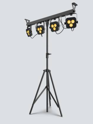 Chauvet DJ 4Bar-Quad-LT-BT RGBA LED Wash Light Package with D-Fi and Bluetooth Compatibility Product Image 4
