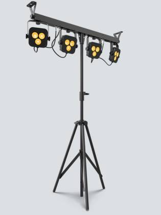 Chauvet DJ 4Bar-Quad-LT-BT RGBA LED Wash Light Package with D-Fi and Bluetooth Compatibility Product Image 3