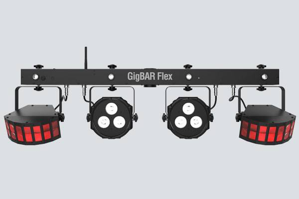 Chauvet DJ GIGBAR-FLEX Ultra Convenient 3-in-1 Pack and Go Lighting System with Wireless Control Product Image 3