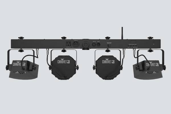 Chauvet DJ GIGBAR-FLEX Ultra Convenient 3-in-1 Pack and Go Lighting System with Wireless Control Product Image 5