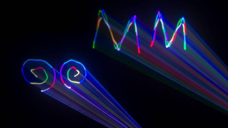 Chauvet DJ ScorpionDual-RGB  Scorpion Dual RGB Multi Pattern FAT Beam Laser with Dual Mirror Output scorpion-dual-rgb Product Image 10