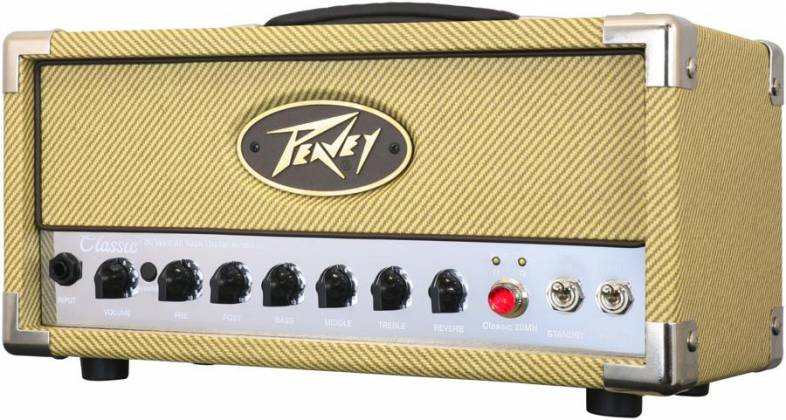 Peavey 03614150 CLASSIC 20 MH 20W/5W/1W Tube Guitar Amplifier Head with 2 Channels Product Image 3