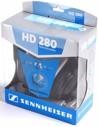 Sennheiser HD280-pro Closed Around the Ear Collapsable Headphones Product Image 2