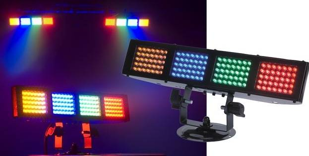American DJ COLOR-BURST-LED 4 Led Color Wash (discontinued clearance) Product Image 3