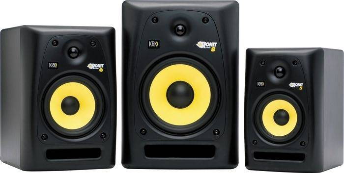 KRK RP5-G3 Rokit 5-inch Two-Way Active Powered Studio Monitor Product Image 3