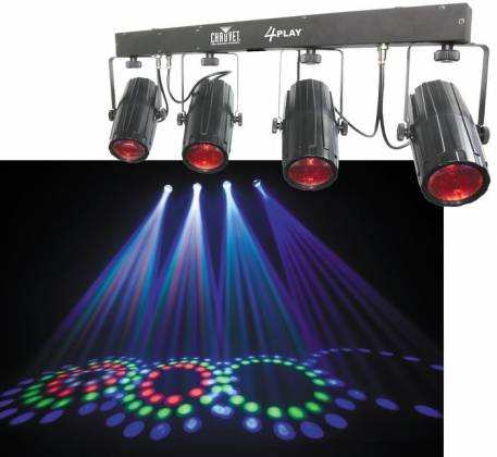 Chauvet DJ 4PLAY LED Moonflower Chase Package Product Image 2