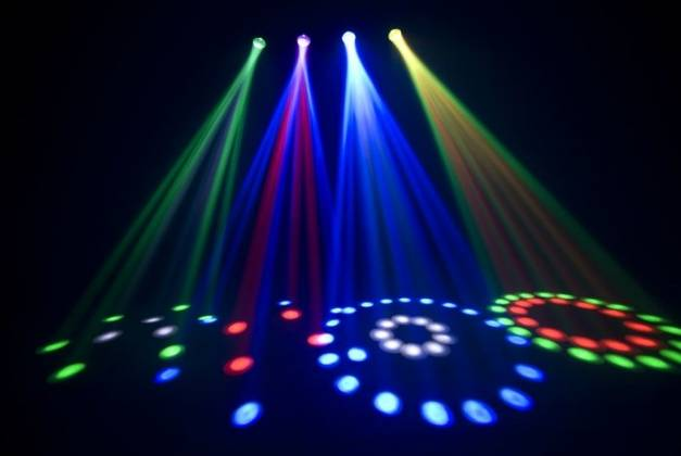 Chauvet DJ 4PLAY LED Moonflower Chase Package Product Image 7