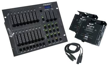 American DJ Stage-Pak-1 DMX Lighting Controller Package Product Image 2