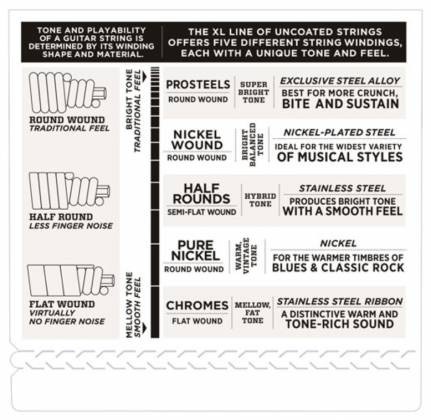 D'Addario EXL170 Light XL Nickel Wound Electric Bass Strings Long Scale Gauge 45-100 exl-170 Product Image 4