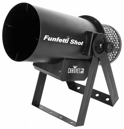 Chauvet DJ FUNFETTI Shot Confetti Launcher with Wireless or DMX Control Product Image 3
