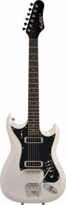 Hagstrom HII-WHT HII Series 6 String Electric Guitar in White Gloss Product Image 2