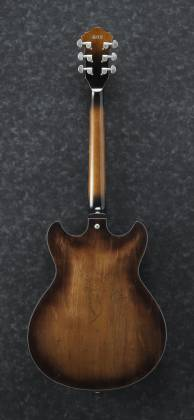 Ibanez ASV10A-TCL-d Artcore Vintage Series 6 String Hollow Body Guitar in Tobacco Burst Low Gloss Finish (discontinued clearance)  (Prior Year Model) Product Image 3