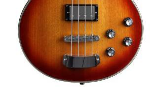 Hagstrom SWEB-WHT 4 String Swede Bass in White Gloss Product Image 3