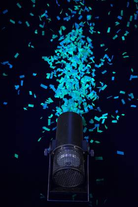 Chauvet DJ FUNFETTI Shot Confetti Launcher with Wireless or DMX Control Product Image 6