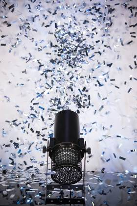 Chauvet DJ FUNFETTI Shot Confetti Launcher with Wireless or DMX Control Product Image 4