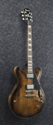 Ibanez ASV10A-TCL-d Artcore Vintage Series 6 String Hollow Body Guitar in Tobacco Burst Low Gloss Finish (discontinued clearance)  (Prior Year Model) Product Image 6