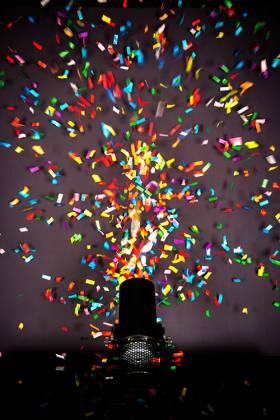 Chauvet DJ FUNFETTI Shot Confetti Launcher with Wireless or DMX Control Product Image 2