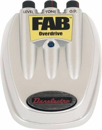 NEW! Danelectro D-2 FAB Overdrive Guitar Effects Pedal D2