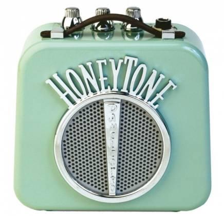 Danelectro DN-10NA Honeytone Mini Guitar Amplifier in Aqua Product Image 2