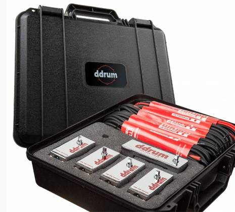 DDrum CE Tour Pack 5-Piece Chrome Elite Trigger Set with Cables Product Image 4