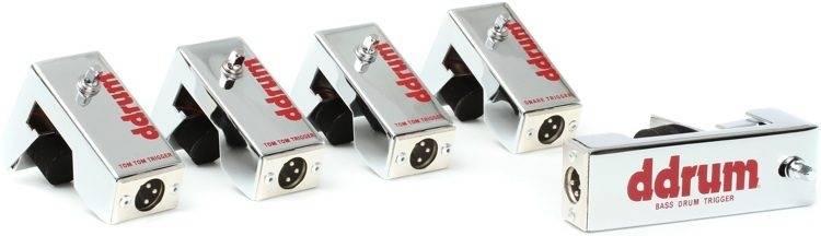 DDrum CE Tour Pack 5-Piece Chrome Elite Trigger Set with Cables Product Image 5