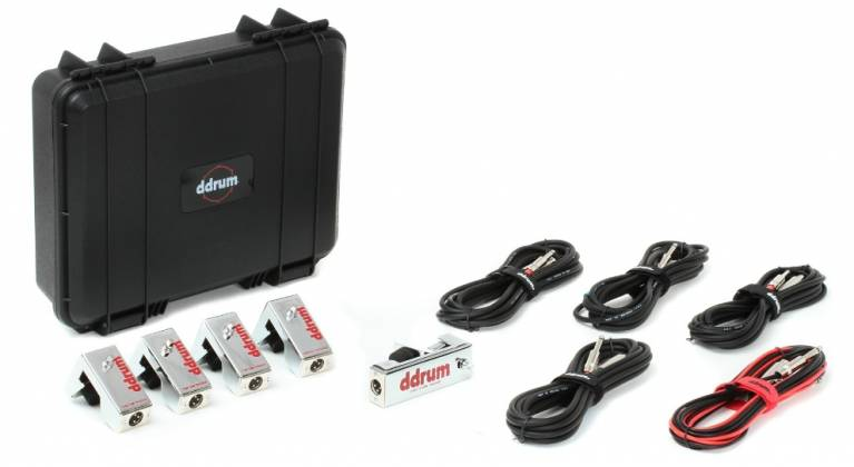 DDrum CE Tour Pack 5-Piece Chrome Elite Trigger Set with Cables Product Image 6