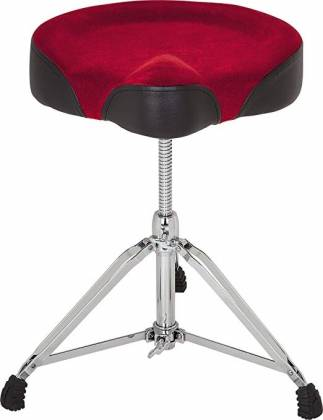 DDrum MRTT Mercury Red Top Drum Throne Product Image 2