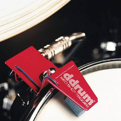 DDrum RS TOUR PACK Red Shot 5-Piece Drum Trigger Kit with Cables Product Image 4