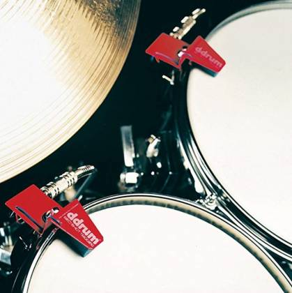 DDrum RS TOUR PACK Red Shot 5-Piece Drum Trigger Kit with Cables Product Image 5