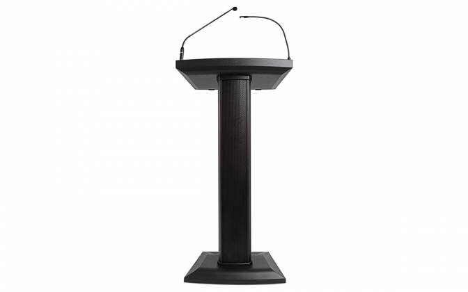 Denon Pro LECTERN ACTIVE Lectern with Active Speaker Array in Black Product Image 11