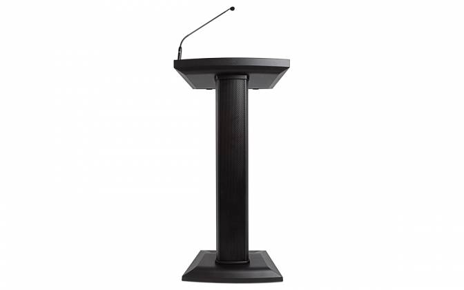 Denon Pro LECTERN ACTIVE Lectern with Active Speaker Array in Black Product Image 3