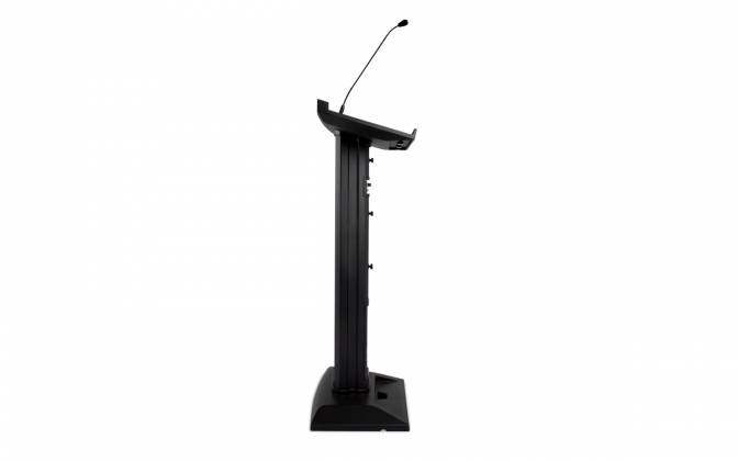 Denon Pro LECTERN ACTIVE Lectern with Active Speaker Array in Black Product Image 5