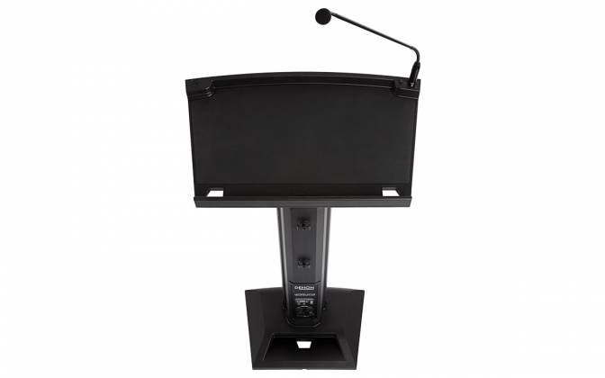 Denon Pro LECTERN ACTIVE Lectern with Active Speaker Array in Black Product Image 7