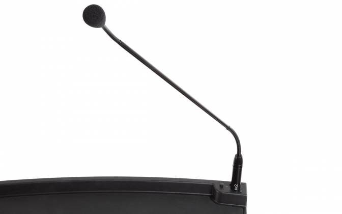 Denon Pro LECTERN ACTIVE Lectern with Active Speaker Array in Black Product Image 10