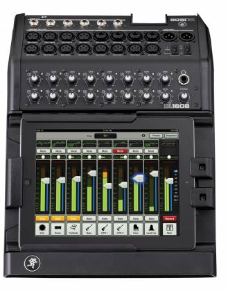 Mackie DL1608 16 Channel Mixer with Apple iPad control and Pro Tools First Software Bundle Product Image 4
