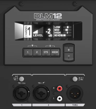 Mackie DLM12S 2000w Powered Subwoofer Product Image 5