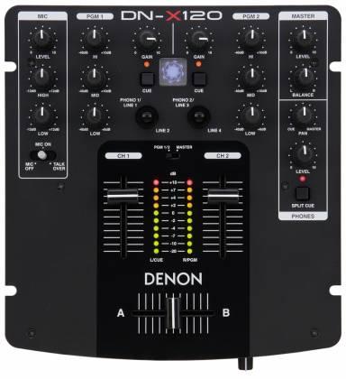 Denon DJ DNX-120 Small Profile DJ Mixer (clearance used - 9.5 condition) Product Image 5