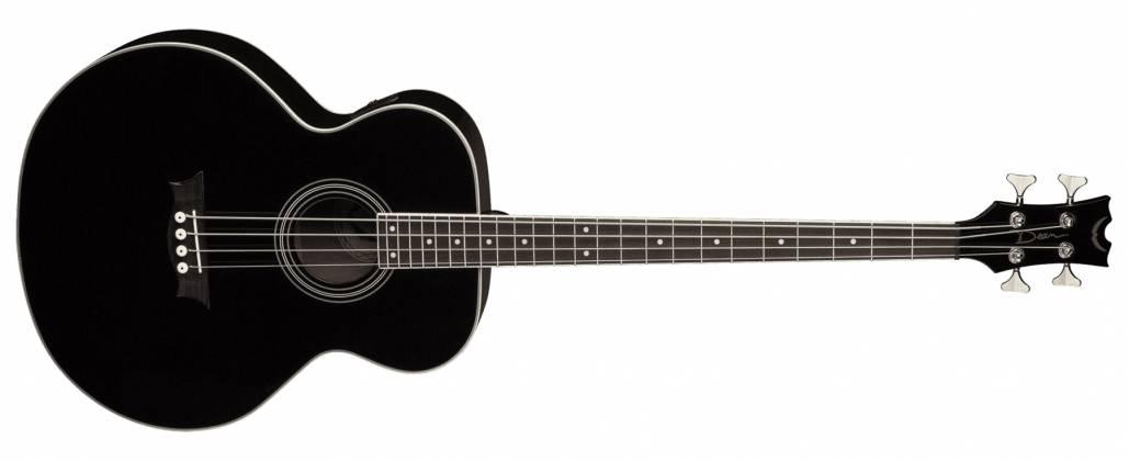 Dean EAB CBK 4 String RH Acoustic-Electric Bass - Classic Black Product Image 9