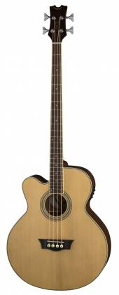 Dean EABC L Cutaway 4 String LH Acoustic-Electric Bass - Natural Product Image 2