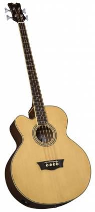 Dean EABC L Cutaway 4 String LH Acoustic-Electric Bass - Natural Product Image 4