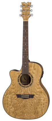 Dean EQAL GN Exotica Quilt Ash 6 String LH Acoustic-Electric Guitar Product Image 2