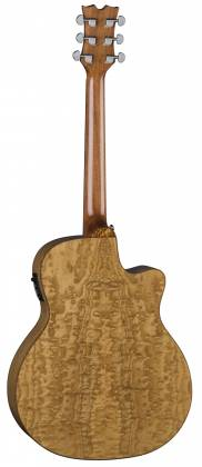 Dean EQAL GN Exotica Quilt Ash 6 String LH Acoustic-Electric Guitar Product Image 3