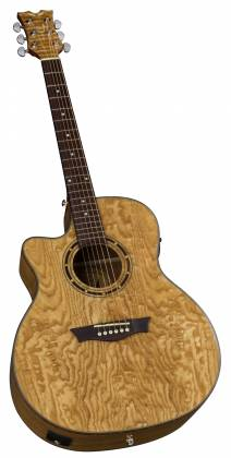 Dean EQAL GN Exotica Quilt Ash 6 String LH Acoustic-Electric Guitar Product Image 4